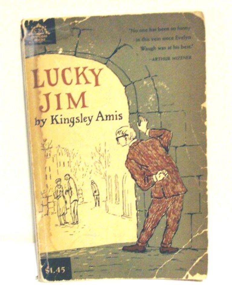 Lucky Jim by Kingsley Amis PB 1965 Viking 13th printing AL1314