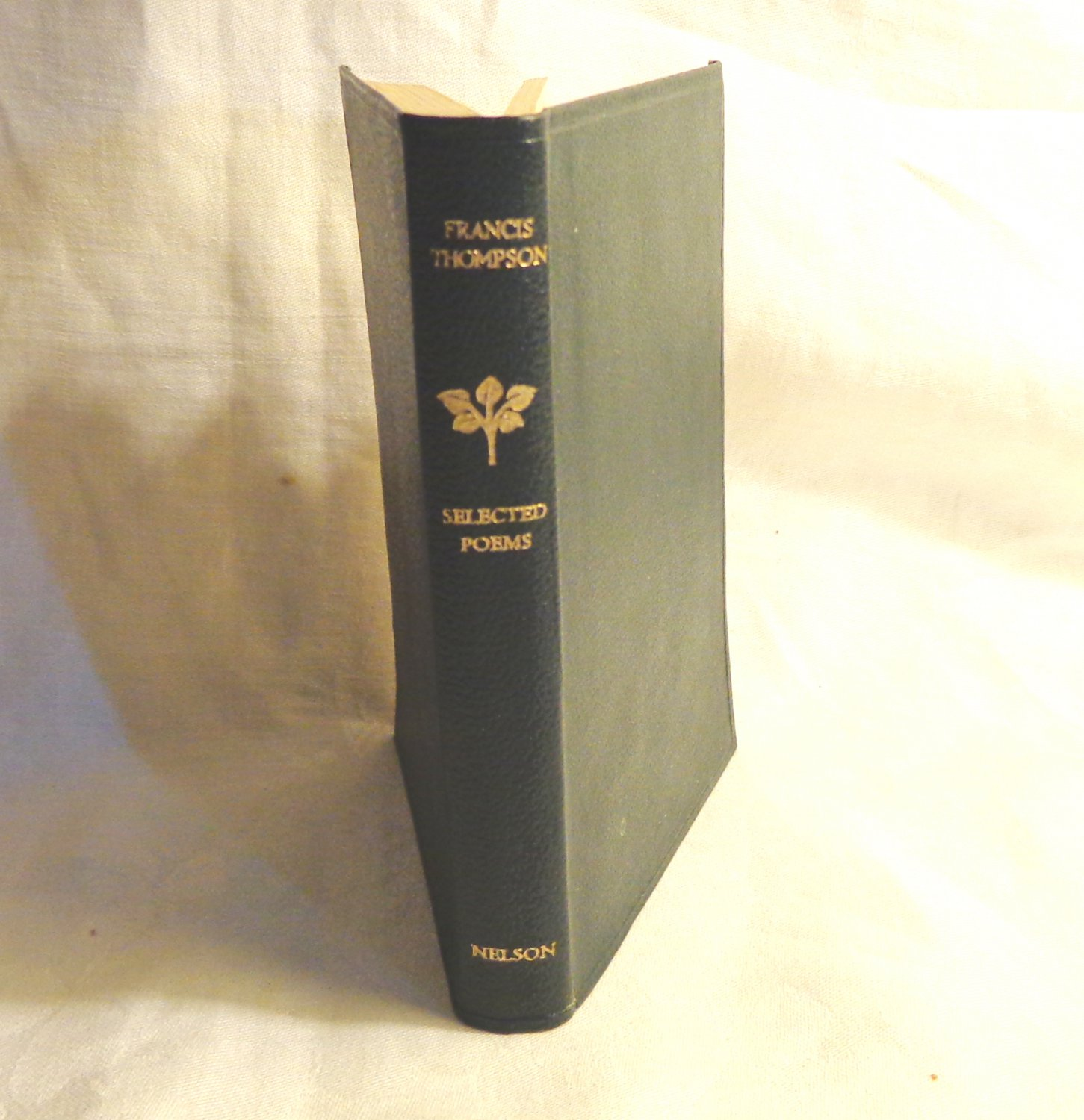 Selected Poems Francis Thompson pocket edition antique book AL1537