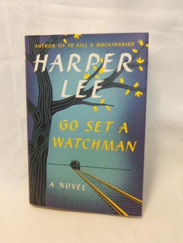 Harper Lee Go Set a Watchman hc dj first edition Harper Collins as new AL1538