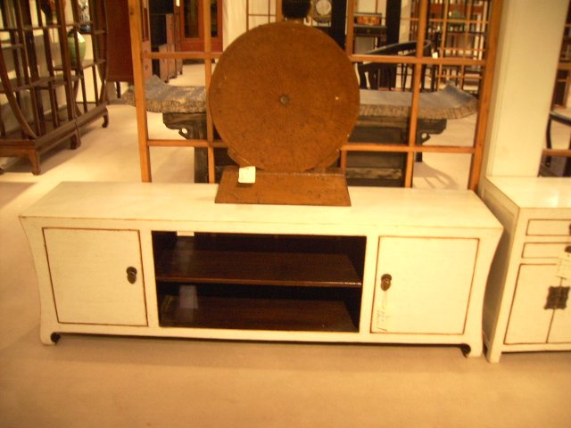 Imperial Living Ming Console with 2 cabinet for Plasma and LCD TV