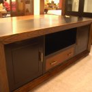 Bali Contemporary console 2 cabinet with leather drawer cam Sin$799