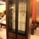 Bali Contemporary cabinet with 3 leather drawer cam Sin$ 799