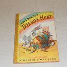 BUGS BUNNY TREASURE HUNT GOLDEN STORY  BOOK 128 PAGES FULL COLOR1949