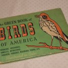 GREEN BOOK OF BIRDS OF AMERICA/ASHBROOK ILLUS/MOLLER