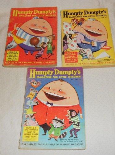 HUMPTY DUMPTY'S MAGAZINE FOR LITTLE CHILDREN (3) JAN. ,APR., MAY,1958