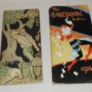 LINEBOOK COPYRIGHTED BY THE CHICAGO TRIBUNE 2 MAGAZINES 1926 & 1927 R.H.L.