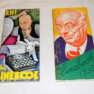 LINEBOOK COPYRIGHTED BY THE CHICAGO TRIBUNE 2 MAGAZINES 1931 & 1932 R.H.L.