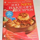 PILLSBURY BAKE-OFF COOKBOOK 100 PRIZE WINNING RECIPES 15TH 1964