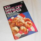 PILLSBURY BAKE-OFF COOKBOOK 100 PRIZE WINNING RECIPES 20th 1969