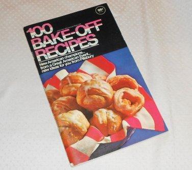 PILLSBURY BAKE-OFF COOKBOOK 100 PRIZE WINNING RECIPES 20th 1969