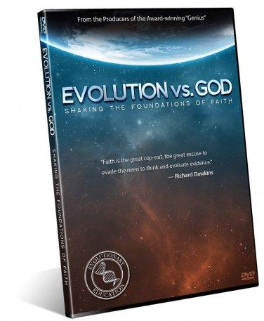 EVOLUTION vs. GOD (Shaking the foundations of faith) DVD