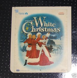 Irving Berlin&#039;s White Christmas *VIDEODISC VERY RARE*