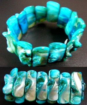 Classique Turquoise Shell bracelet