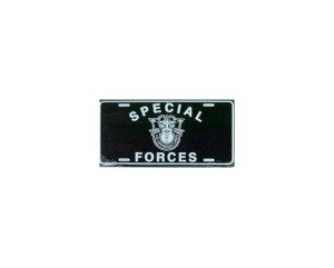 Special Forces Metal License Plate - NEW! $3 shipping