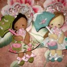 Sweet Little Darlings Felt Doll Pattern Pdf