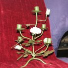 Green Rose Candleholder