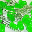 20 LEDs, Green, General Purpose, 5mm T-1 3/4,