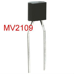 2PCS Varactor Diode, 15pF -30pF, MV2109, TO-92