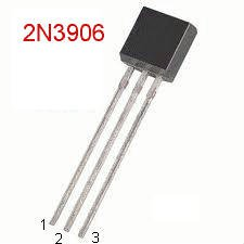 25 2N3906 PNP 40V 0.3A TO-92