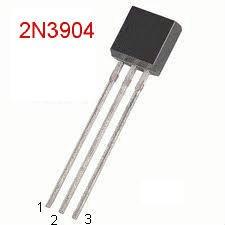 25 2N3904 NPN 40V 0.2A TO-92
