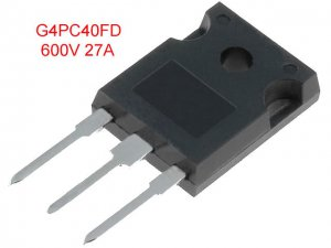 2PCS G4PC40FD IGBT 600V 49A TO-247AC