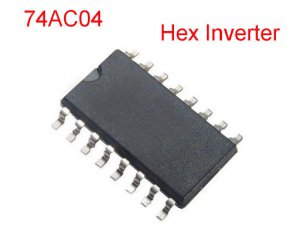 4PCS 74AC04 AC Hex Inverters SOIC-14