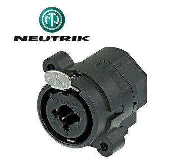 Neutrik XLR/TSR 11 Pin Combo Receptacle NCJ10FI-H
