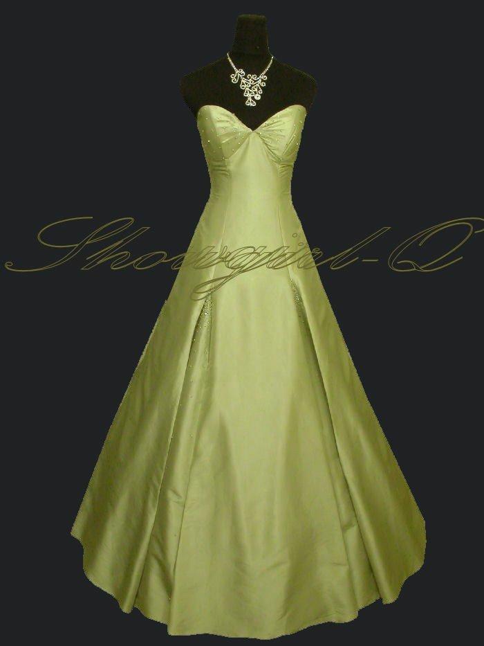 3568 Light Green Evening Dress Prom Dress Ball Gown