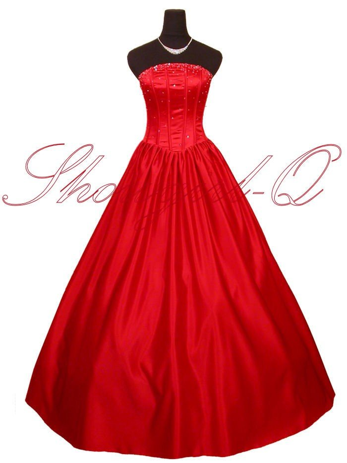 5362R EVENING DRESS PROM BALL GOWN  8 10 12 14 16 18 20