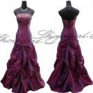 3608BU Evening Dress Prom Ball Gown 8 10 12 14 16 18 20
