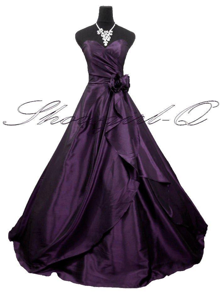 3506PU Evening Dress Prom Ball Gown 8 10 12 14 16 18 20