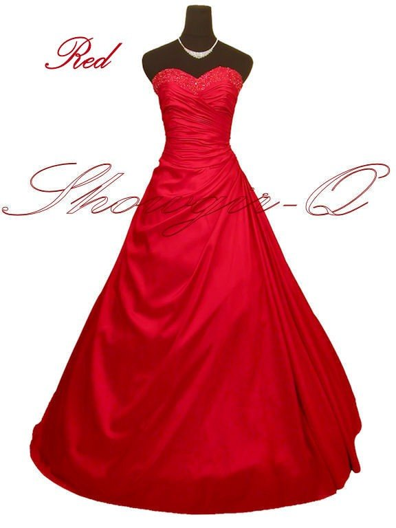 3497RD EVENING DRESS PROM BALL GOWN 8 10 12 14 16 18 20