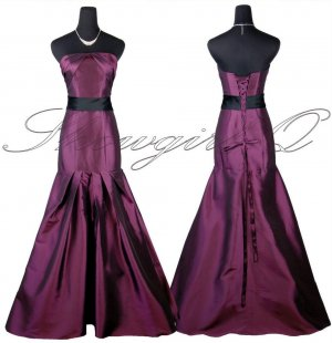 5425 EVENING DRESS PROM BALL GOWN PURPLE BRIDESMAID
