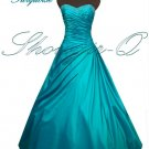 3497TU EVENING DRESS PROM BALL GOWN 8 10 12 14 16 18 20
