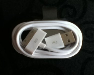 New iPhone iPad iTouch USB Charging Cord
