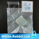 New 100 pcs Microscope Slides Cover Glass Slip 22*22 mm