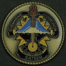 Submarine Squadron Sixteen Challenge Coin