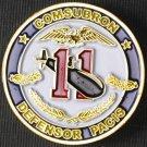 Submarine Squadron Eleven Challenge Coin