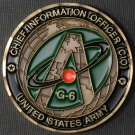 Army G6 CIO Coin for Excellence