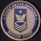 USN Senior Chief Petty Officer Coin
