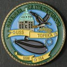 USS Topeka SSN 754 Challenge Coin
