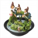 Playful Pals Tabletop Fountain