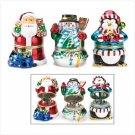 Christmas Music Box Figurines