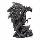 Ferocious Dragon Tealight Holder