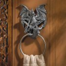 Castle Dragon Towel Ring (wsm)