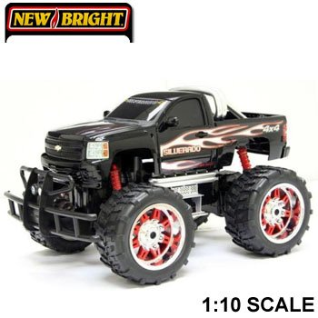 Bright Chevy Silverado R/c Monster Truck