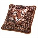 Regal Leopard Accent Pillow