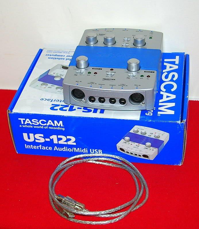 Tascam US-122 USB Recording Interface
