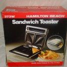 Hamilton Beach Sandwich Toaster, Model 373