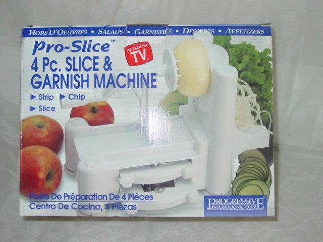 PRO-SLICE - 4 PC. SLICE & GARNISH MACHINE